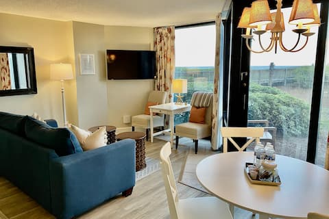 Step Onto the Beach!  Inviting Oceanfront Suite