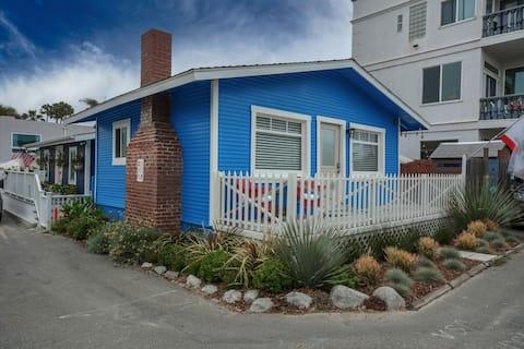 Historic beachside home in charming Sunset Beach