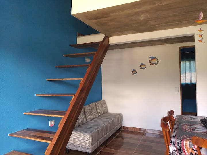 Casa em Ilhabela - Chalé II - Arara Azul