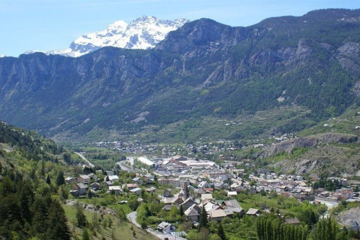 studio :  L'Argentière , dans le massif des Ecrins