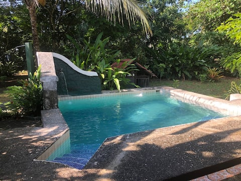 Casa Caribe - on 2 acres of garden