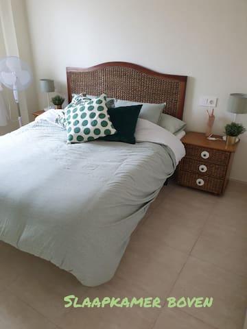 Slaapkamer 3 bovenverdieping