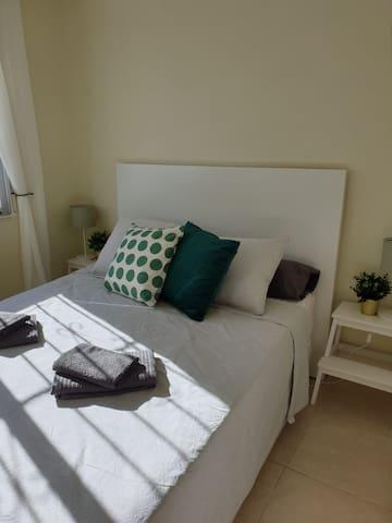 Slaapkamer 1 voorzijde