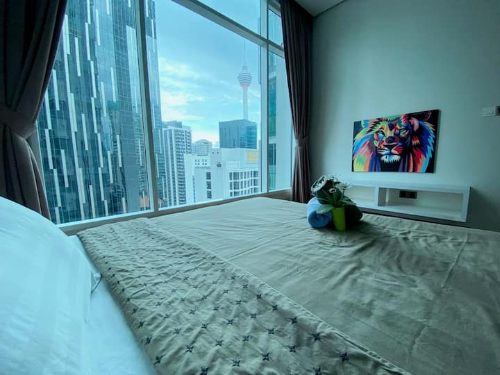 吉隆坡 KLCC 6-7pax Nice View/ Cozy/Soho City centre