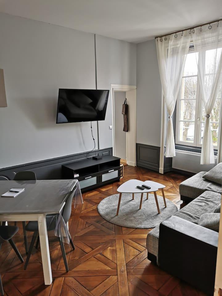 appartement avec vue sur cathédrale classé 3*