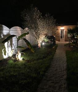 Accès a la grange de nuit