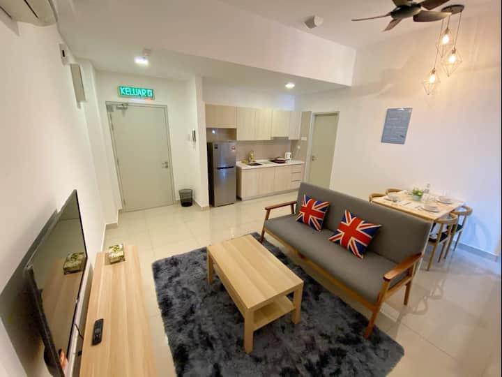 Cozy Studio At Vivo Suite ||Near Midvalley&Bangsar