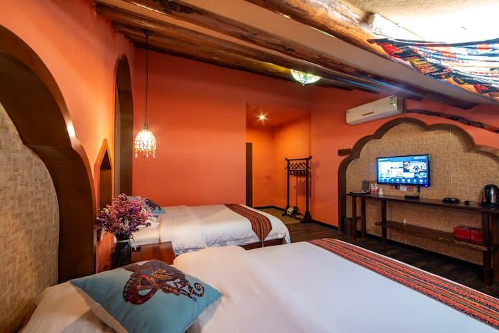 武陵源  森林公园  尼泊尔 双床房 免费接送 近溪布街 管家服务