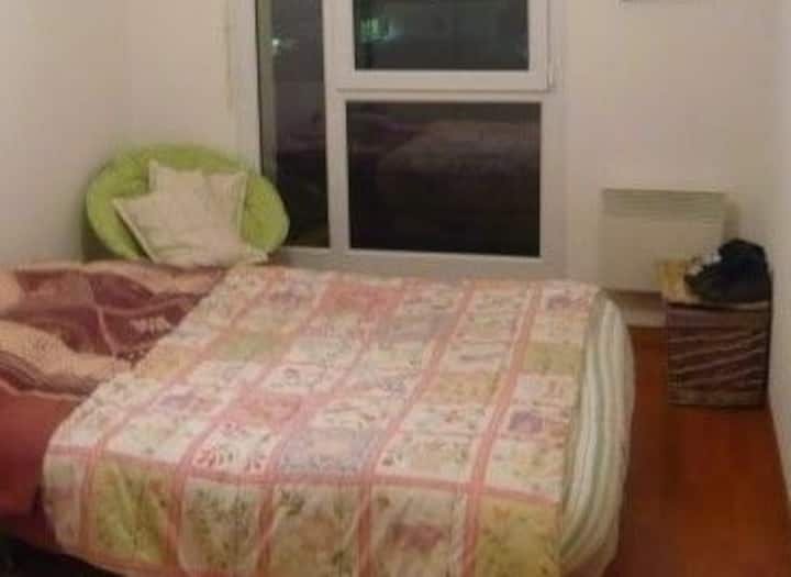 1 Bedroom flat, 10 min to Basel (for 1/4 people)..
