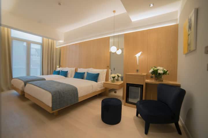 Galatas Hotel - Family Room (Free Breakfast)