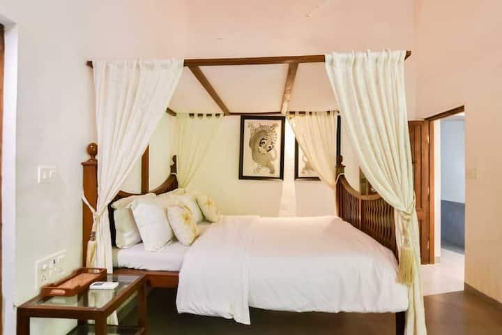 Luxury 1BHK Villa in wilderness by Alibag beach
