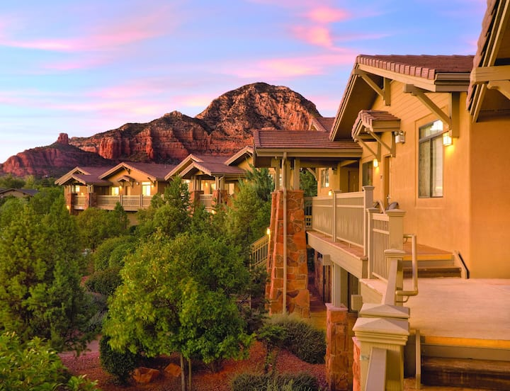 ★★1 BEDROOM DELUXE★★ Wyndham Sedona Resort ★ Beautifully Located near the Majestic Red-Rock Buttes