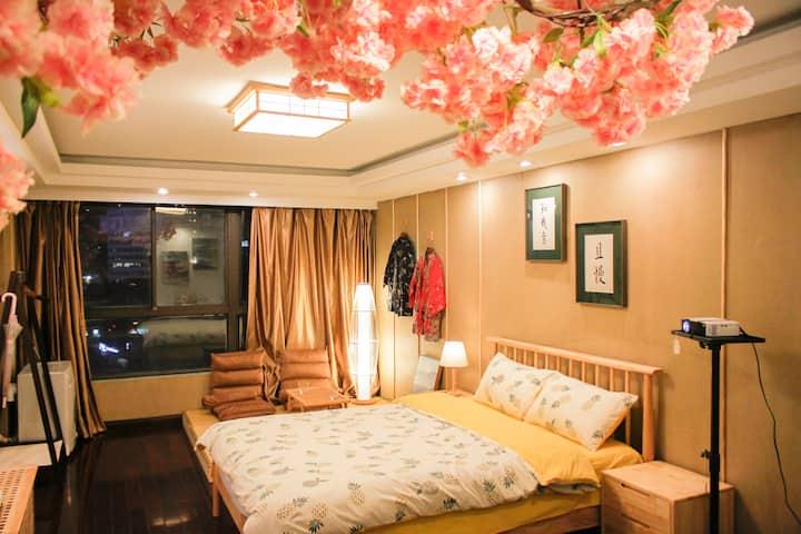市中心 三阳广场地铁口 崇安寺 南长街 近酒吧街 日式风格榻榻米公寓