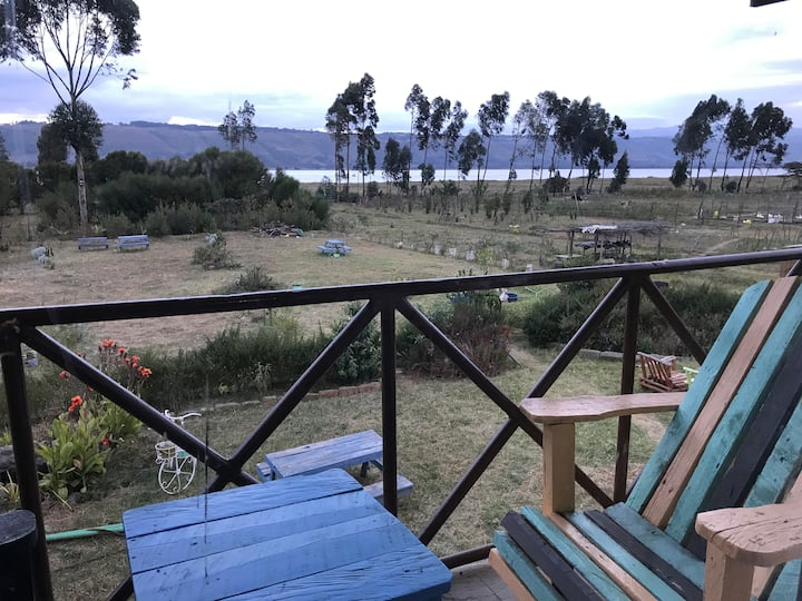 """Kawia Place - Room with Lake and Mountain View """