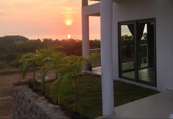 Villa Las Tortugas, Playa Mayto con vista al mar