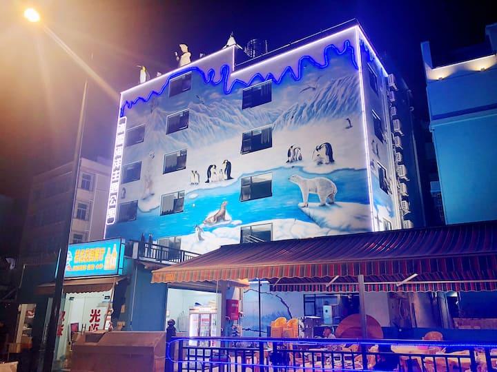 【海豚家园双床房⑤】邂逅 孩子天堂乐园 近长隆海洋王国 交通便利