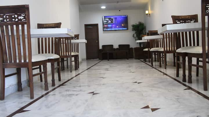 Five star facilities in low budget In VIP area