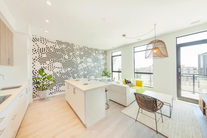 1BD+ · The Laundry Rooms – One Bedroom Plus Suite