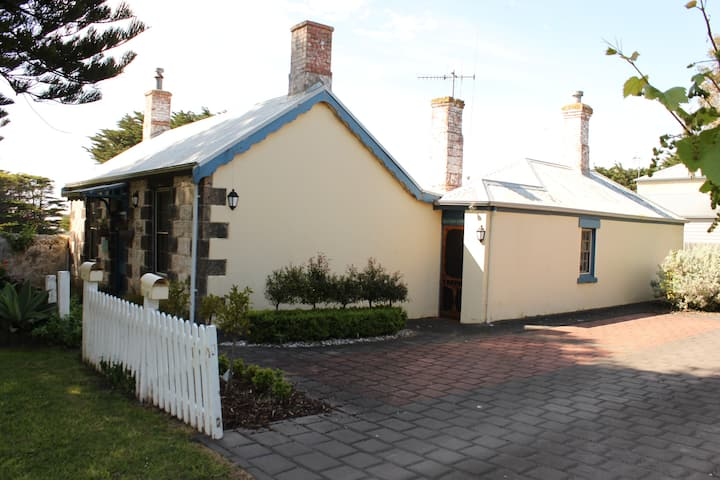 "Port Fairy Cottage - ""Pea Soup"""