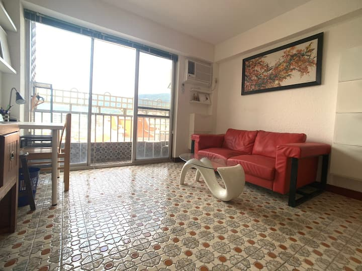 Terrace and view - weekly stay - near Food and MRT