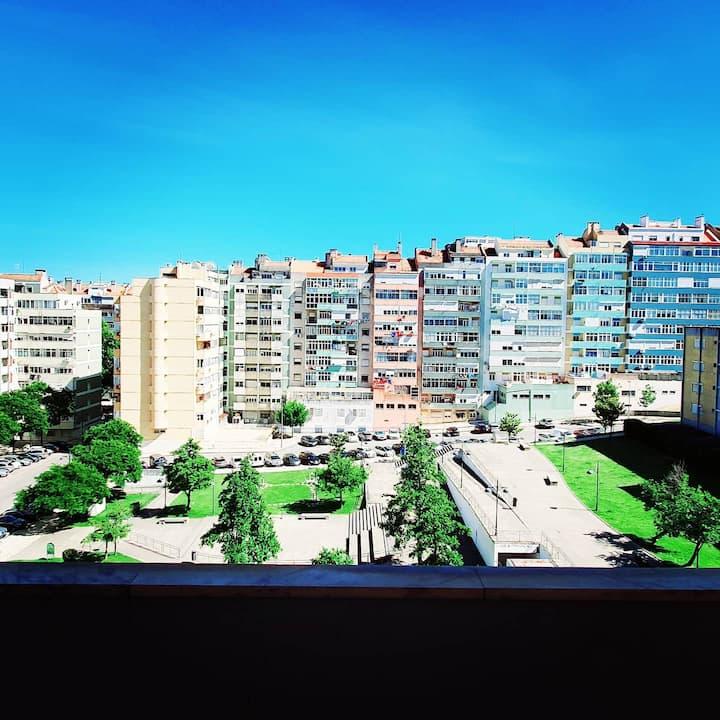 Nice Room | Near Benfica Stadium | Panoramic View