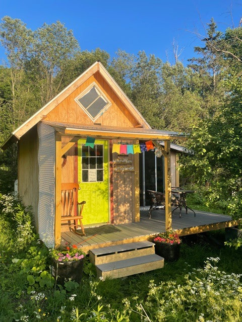 Tiny House on Vermont Homestead