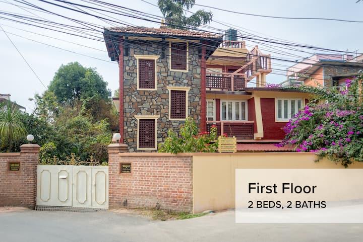 Shree Kunja - First Floor (2 Beds, 2 Baths)