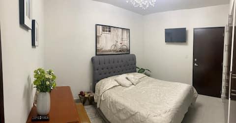 Encantadora habitación al sur de la Ciudad