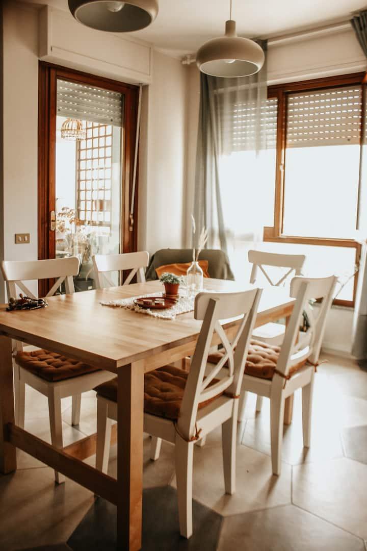 Casa Natura,cozy, airport,Garage,Airconditioning