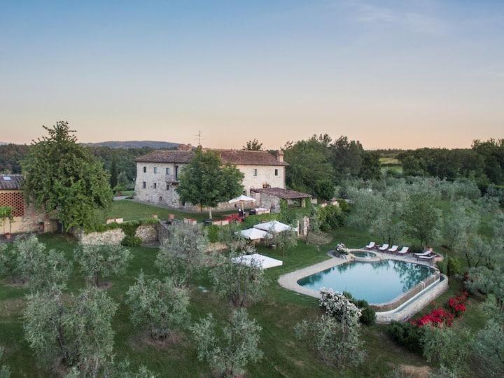 Charming Villa in Chianti area