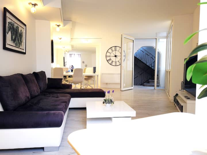 Immeuble 4 étages ,pleincentre ,terrasses ,confort
