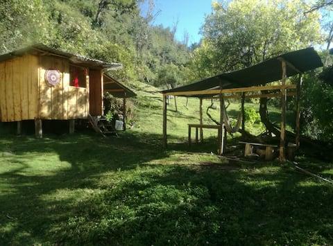 Cabaña  Frente al Río en Reserva Natural Privada