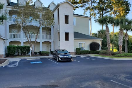Handicap accessible and easy access to unit located on first floor lower right front.