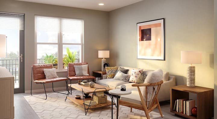 Relax in your own space | 2BR in Cary