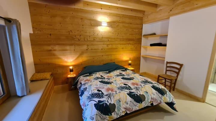 Chambre dans gite ferme baujue coeur du village
