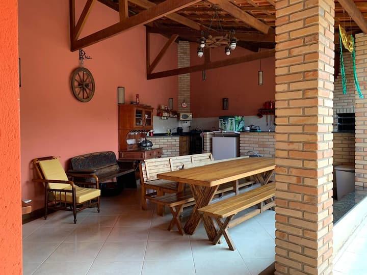 Casa aconchegante em Gonçalves - MG