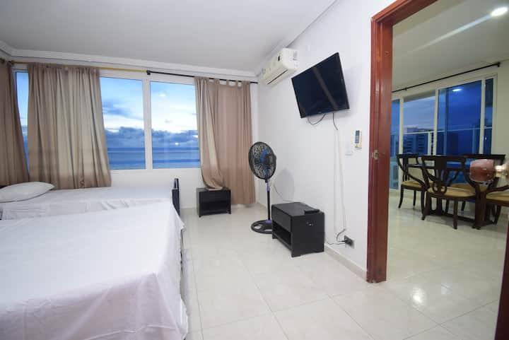Apartamento con vista al mar - 1720