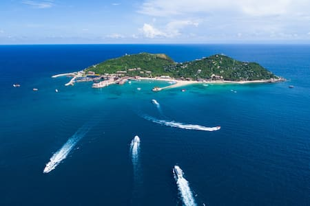 三亚分界洲岛海豚湾客栈 三人间 海岛度假 尽享美景