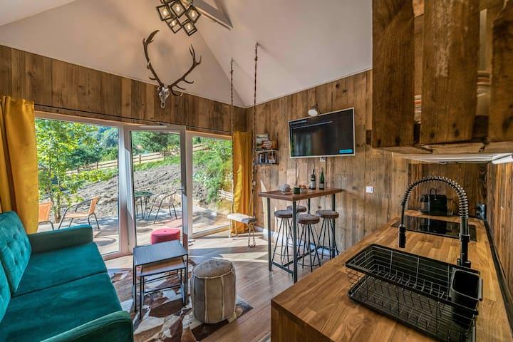 Domandi lodge 2 - sauna,ski wardrobe,kitchen, wifi