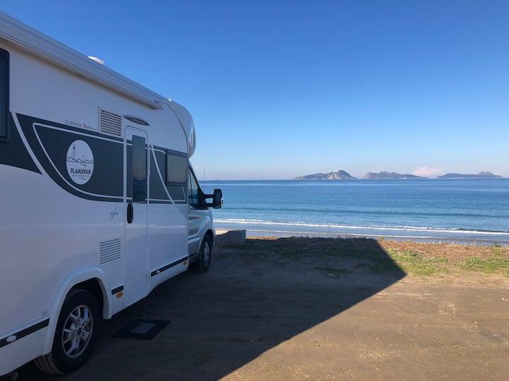 Casa Autocaravana en la Playa