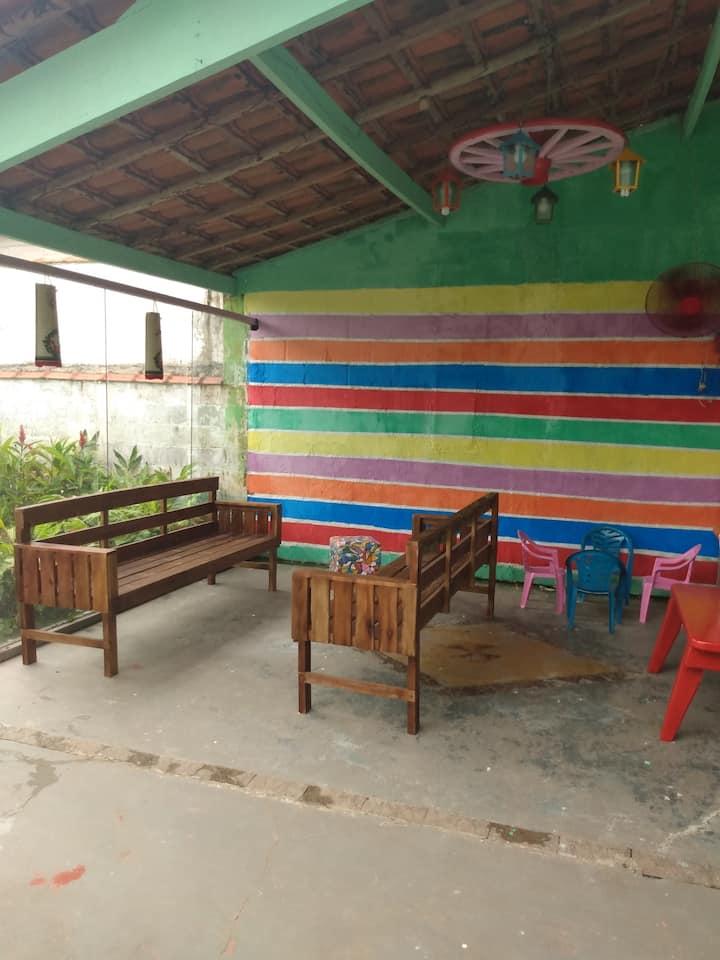 Hostel/suites temporada verde mar