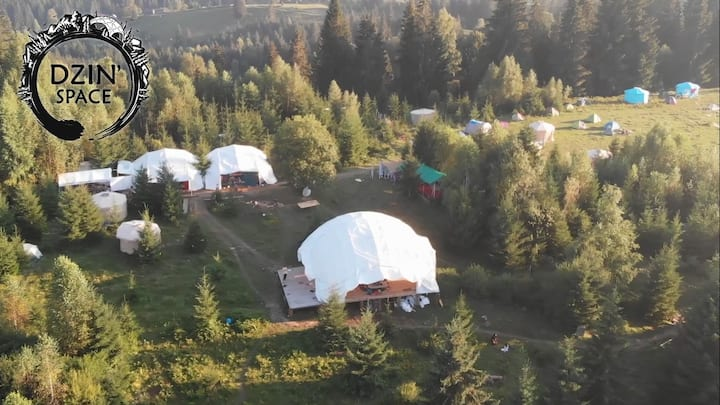 Eco glamping - Carpathians. Retreat hub Dzin Space