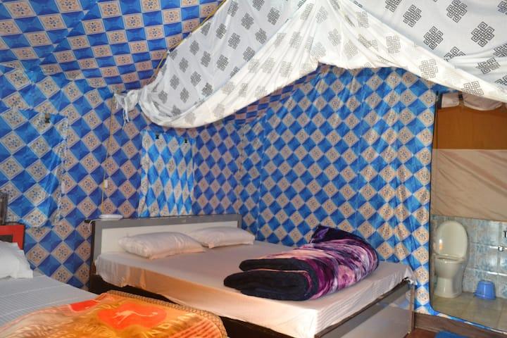 Deluxe Swiss Tent at Ukhimath  Guptkashi Kedarnath