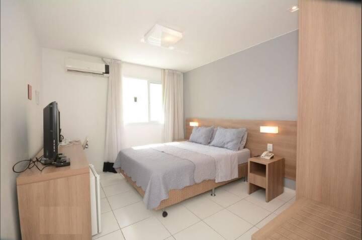 Suíte Flat Condomínio Luxo com segurança 24 horas