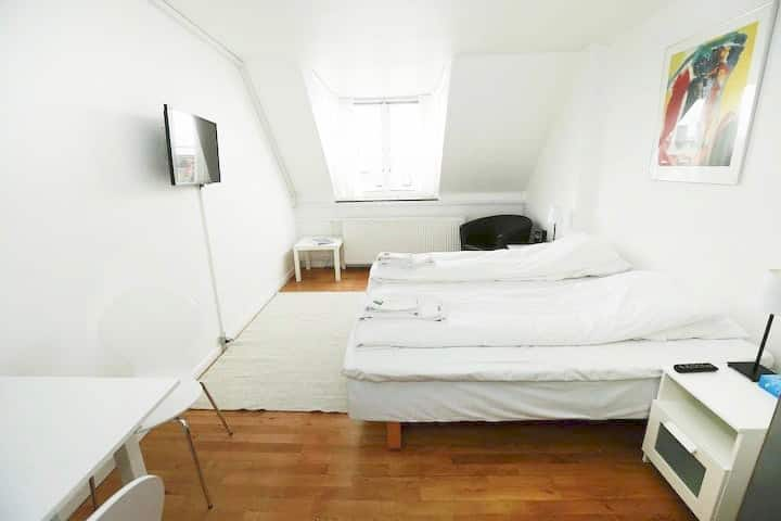 Cosy and central 'hotel-room' available