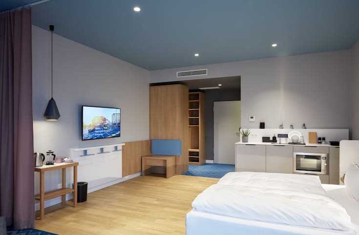 about:berlin Hotel - xl room with kitchenette