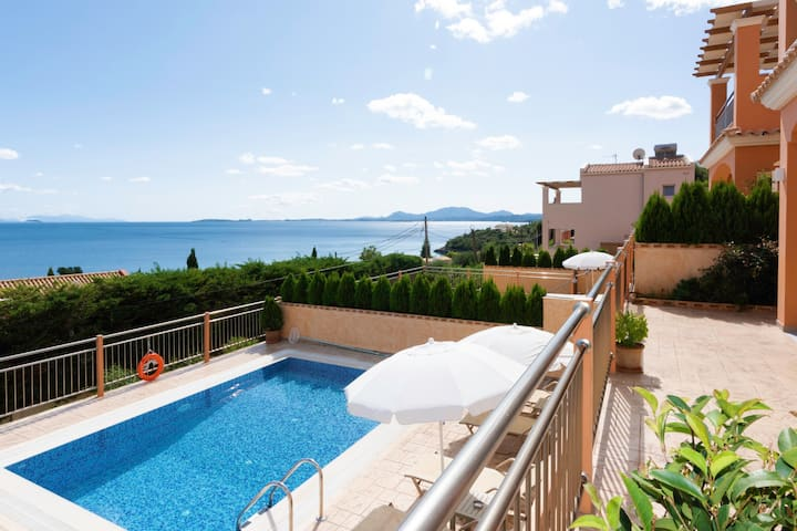 Corfu Sea View Villa Eros