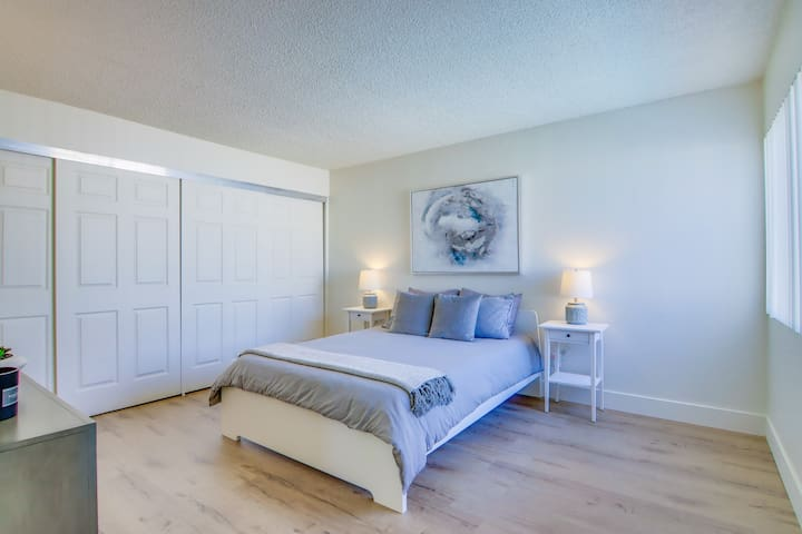 Grand Master Bedroom with Attached Full Bathroom