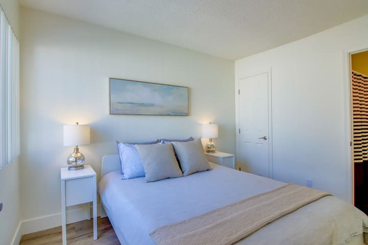 Cozy Guest Bedroom with Attached Full Bathroom