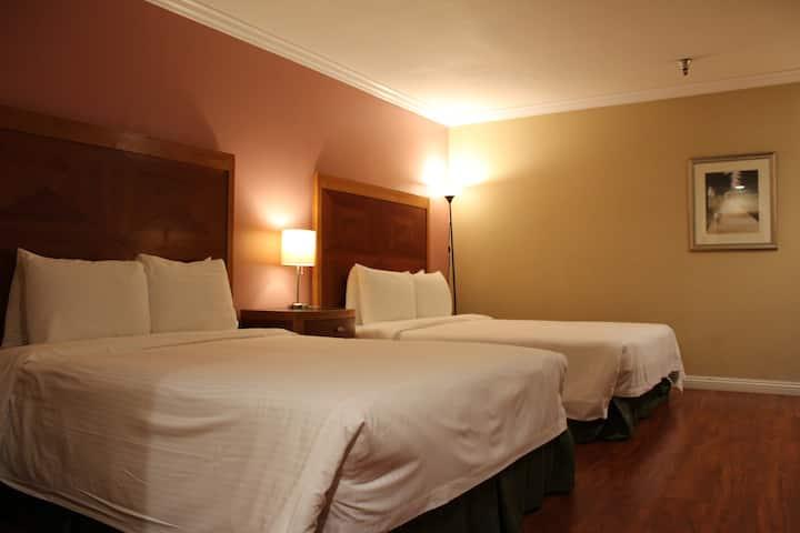 酒店双床房 QQ2